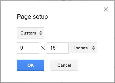 google slidesでスライドを縦向きにする もちぶろ